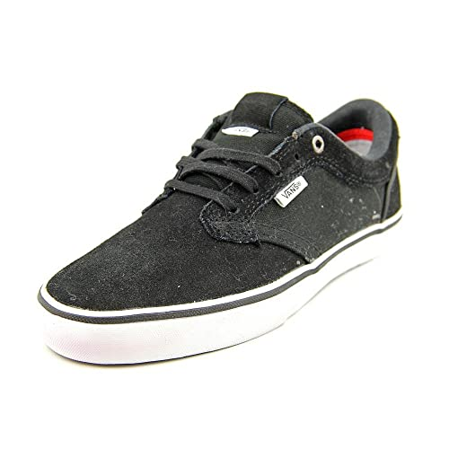 5229e4a032a2 Vans Type II Men US 11.5 Black Skate Shoe  Amazon.ca  Shoes   Handbags