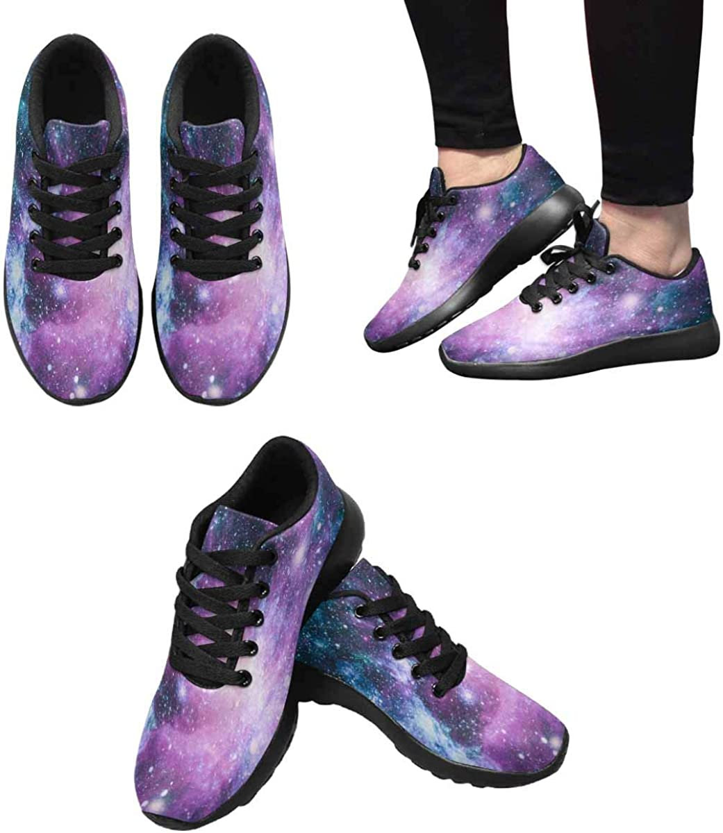 INTERESTPRINT Women s Running Shoes – Casual Breathable Athletic Tennis Sneakers US6-US15