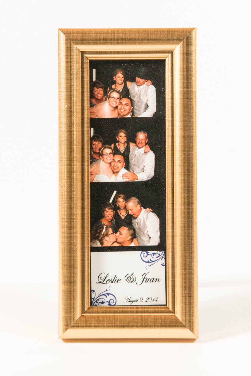 Premium Gold Photo Booth Frame 2x6 (80)
