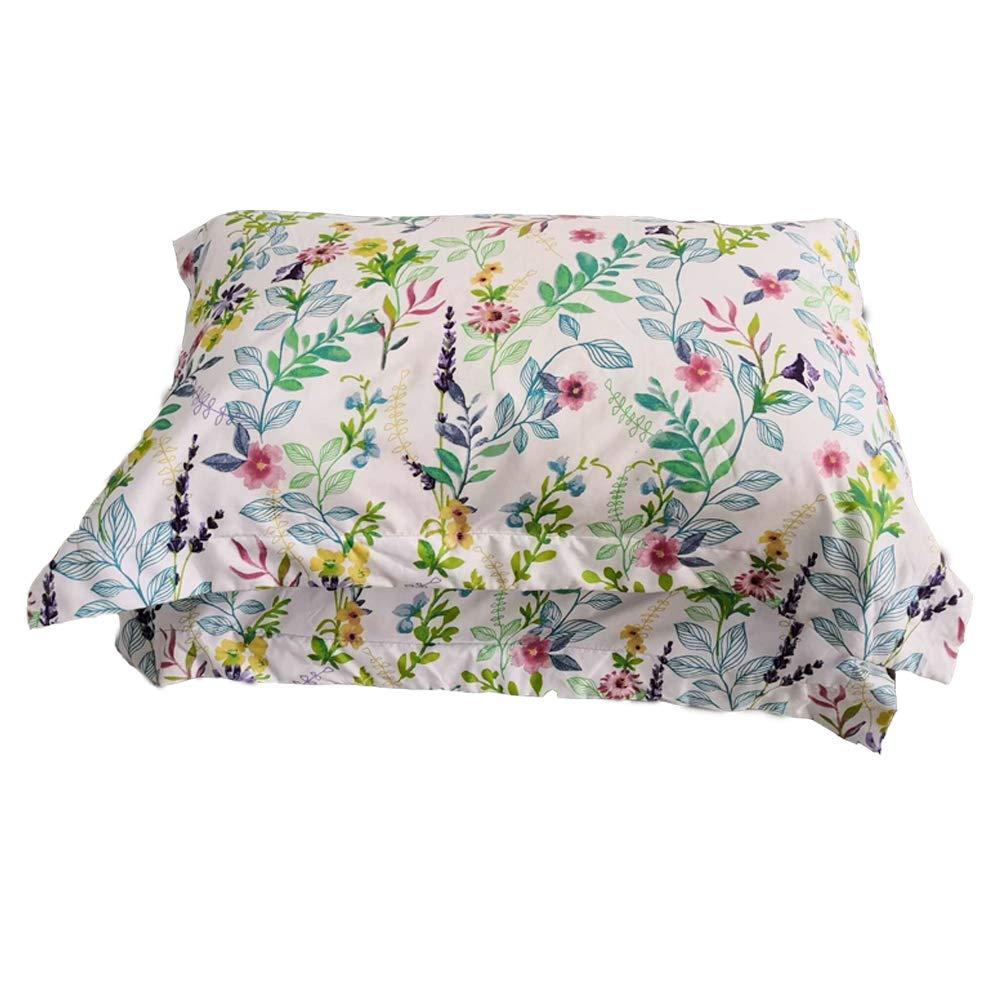 Pattern2, Set of 2 King Size Shams Fade Stain Resistant Soft and Cozy Standard Juwenin Home 100/% Brushed Microfiber Standard Pillow Shams Set of 2 Wrinkle