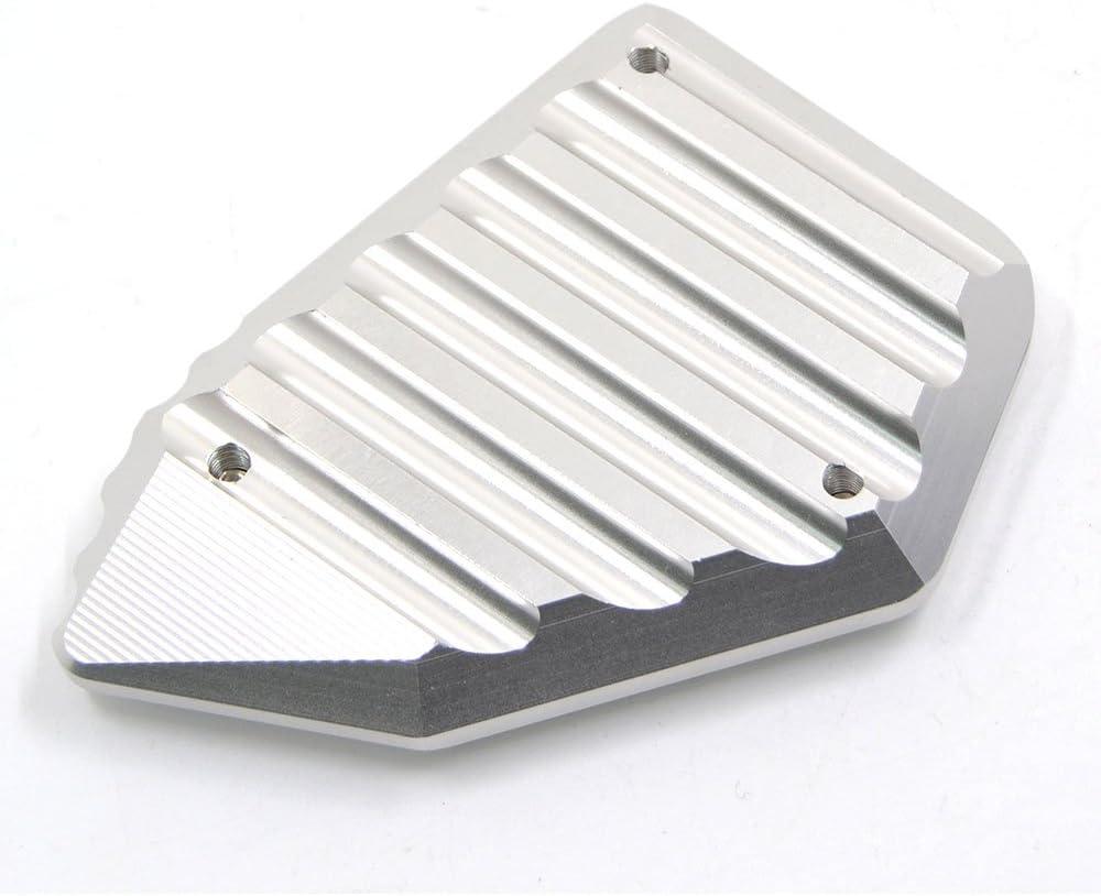 BJ Global CNC aluminio motocicleta soporte pie caballete lateral ENLARGER placa Pad para BMW R 1200 GS 2008-2012 para BMW R 1200 //ADV 2008-2012