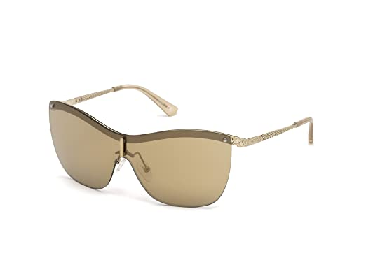 49868b4fd3ab8 Image Unavailable. Image not available for. Color  GUESS Women s Gu7471 Shield  Sunglasses ...