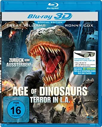 Amazon com: Age of Dinosaurs (3D & 2D) [ NON-USA FORMAT, Blu