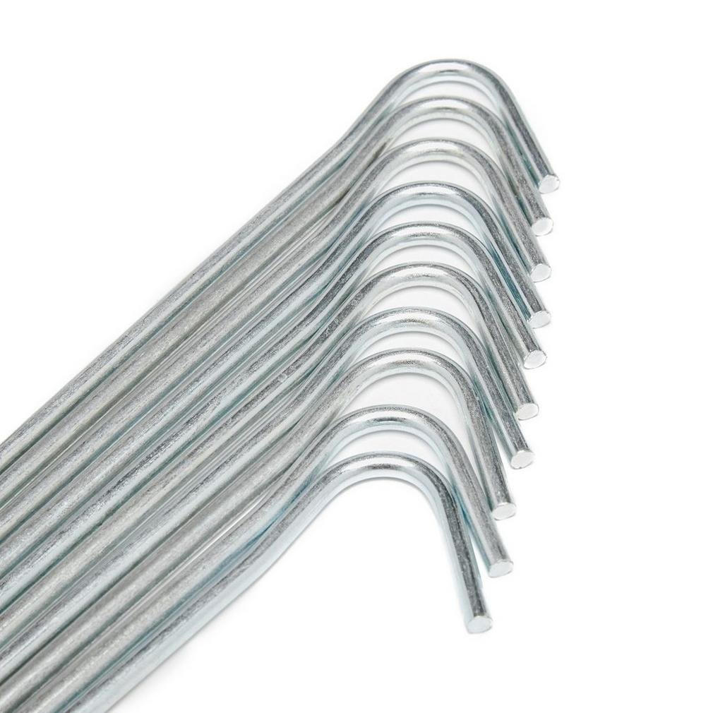 Eurohike Roundwire Pegs 23cm 10 Pack