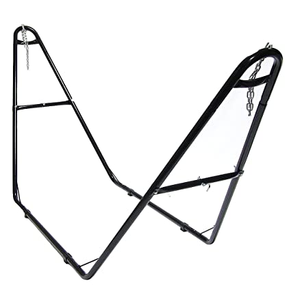 sunnydaze hammock stand   broad sturdy base best hammock stand reviews  jan  2018    top 5 picks and buyer u0027s guide  rh   natureimmerse