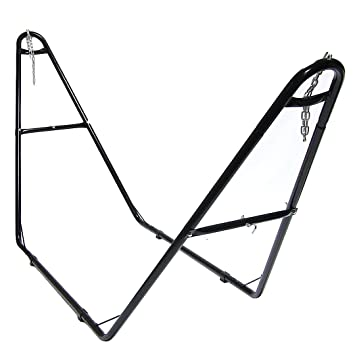 sunnydaze universal multi use heavy duty steel hammock stand 2 person fits amazon     sunnydaze universal multi use heavy duty steel      rh   amazon