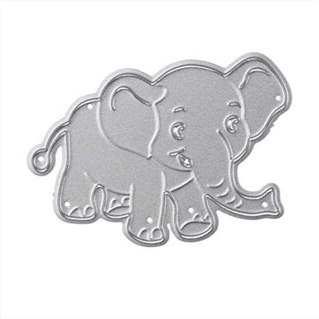 Elephant  Metal Cutting Dies Stencils Scrapbooking Embossing Paper Craft Decor