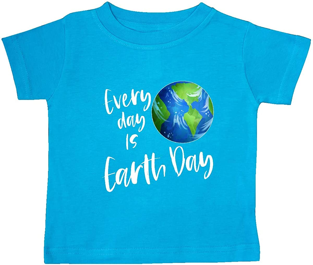 inktastic Every Day is Earth Day Baby T-Shirt