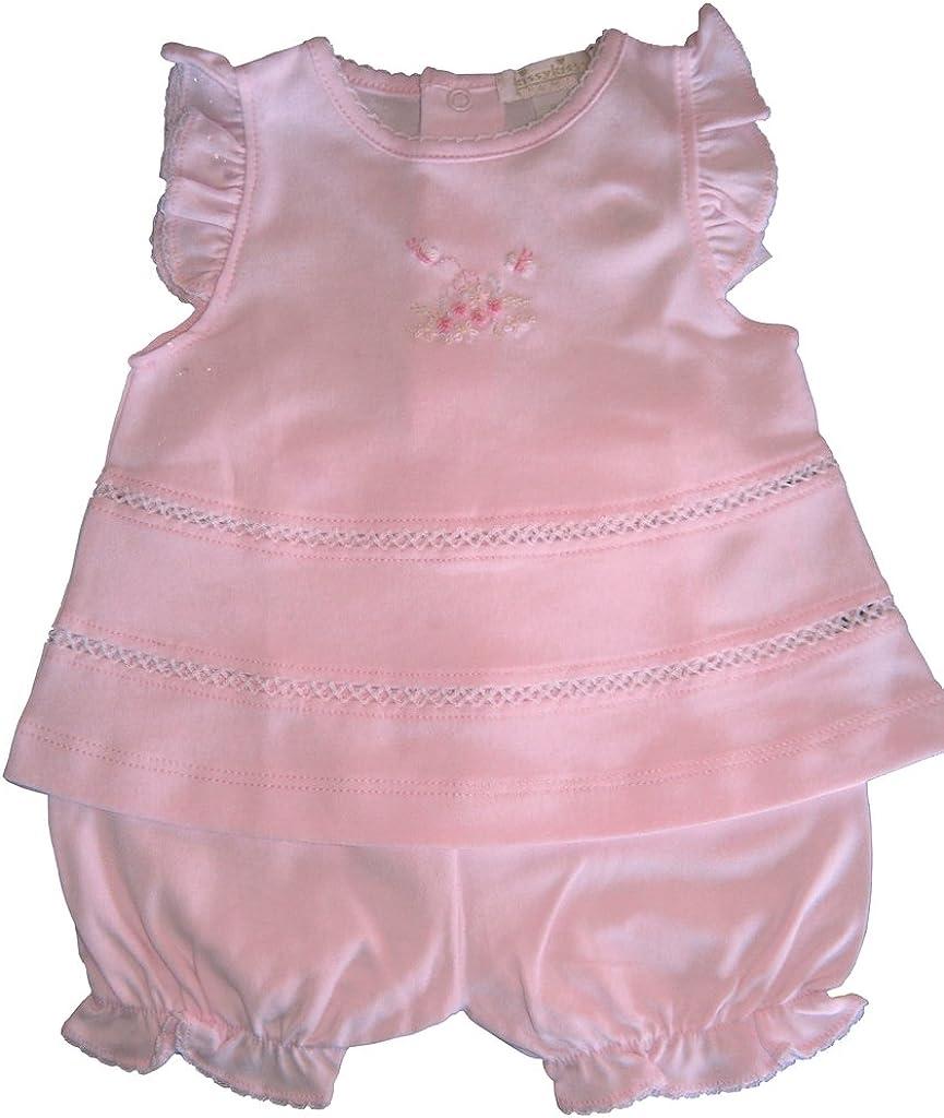 Kissy Kissy Premier Baby-Girls Infant Summer Garden Sunsuit-Pink-6-9 Months