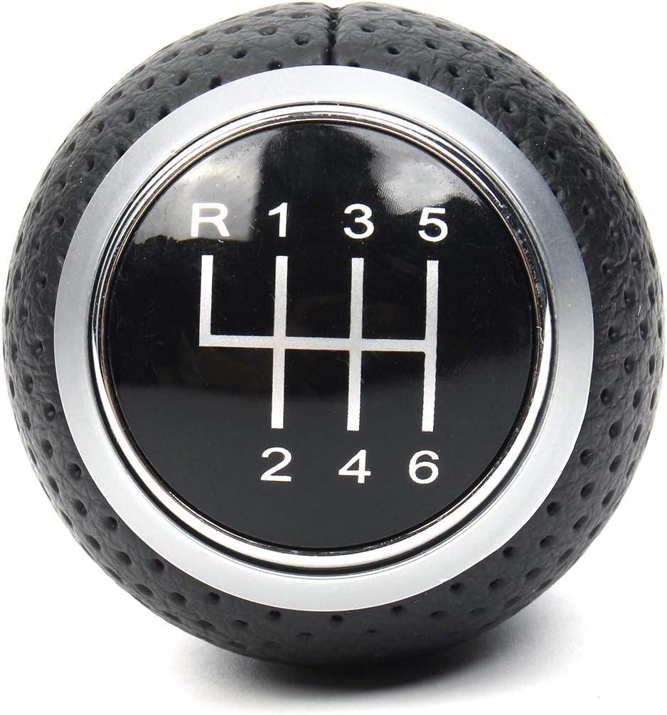 Viviance 6 Speed Gear Shift Knob For Audi A4 S4 B8 8K A5 8T Q5 8R S Line 07-15