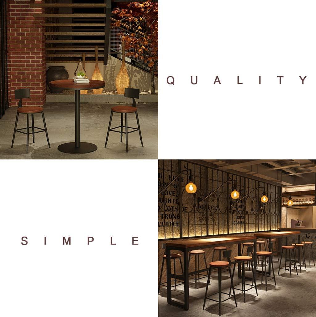 M. Wang WYF Jamie Chaises de Bar Tabouret Haut Ctool pour la Maison et la Cuisine Confort Cuisine Chaise de Petit-déjeuner Comptoir Hauteur de la Serre/séance 60cm #4
