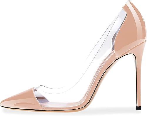 Transparent Pumps PVC Stiletto Shoes