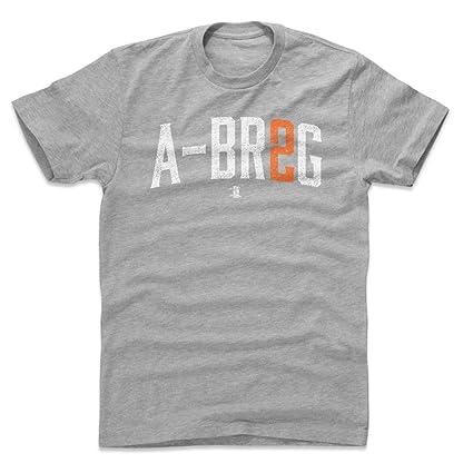 free shipping 031bb b886d Amazon.com : 500 LEVEL Alex Bregman Shirt - Houston Baseball ...