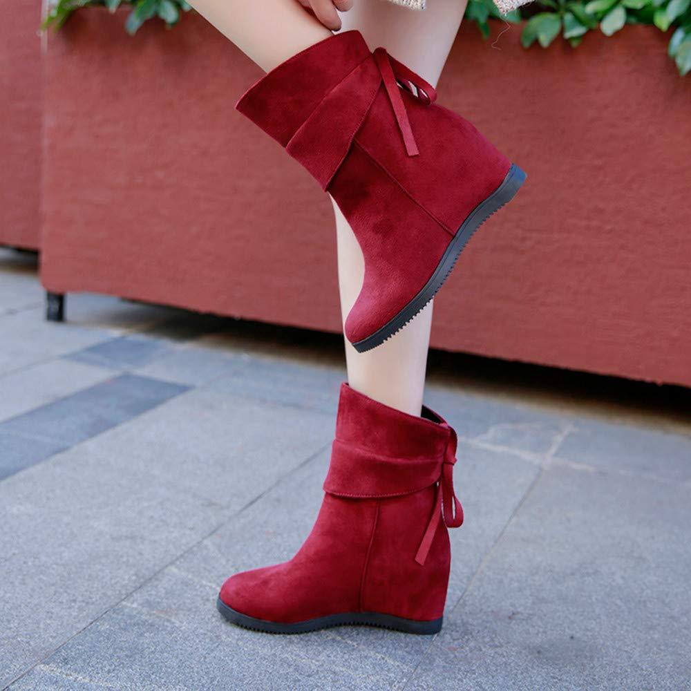 8c2d03e7f53 Clearance Sale! Women High Heel Boots Cinsanong Soft Thick Platform Boots  Increase Within Platform Heels Shoes at Amazon Women s Coats Shop