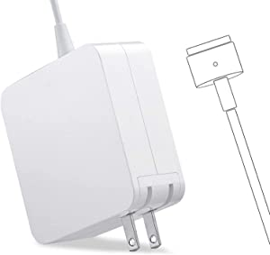 Universal Charger, 60W Magnetic T-Tip Power Adapter Charger Replacement for Mac Pro 13 Inch (After Late 2012)