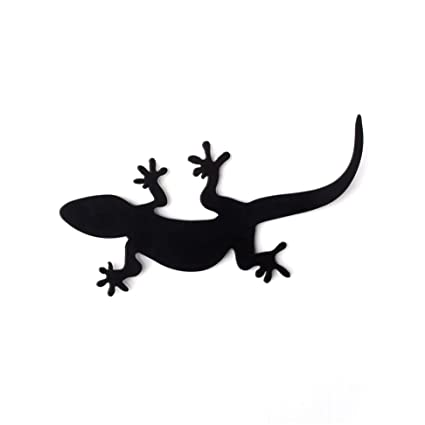 Amazon com: Artori Design Gecko Rack | Black Metal Hook, Hanger