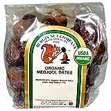 Bergin Nut Company Organic Medjool Dates, 14 Ounce Bag