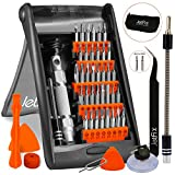 Jetfix 51in1 Precision Magnetic IT Screwdriver Set for Computer/ Watch/ Electronics/ Cell Phone/ PC/ Laptop/ Glasses/ Hardware/ iPad/ Mac/ Iphone/ Tablet/ Jewellers/ Samsung/ Apple/ DJI Mavic Drone