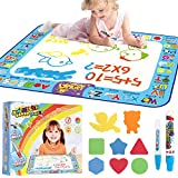AMERTEER Drawing Mat Painting Large Magic Water Mat Suitable For 2 3 4 5 Years Boys Girls For Old Children Creative…
