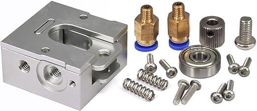 Rokoo Piezas de la impresora 3D DIY Bulldog Extrusora de Metal ...