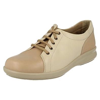 3453ea7cb2 EASYB Easy b DB Phoebe Ladies Leather Lace Casual Shoe in 2E, 4E, 6E ...