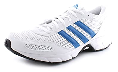 0bd42a5350cb New Mens Gents White Adidas Performance Lace Up Running Shoes Trainers -  White