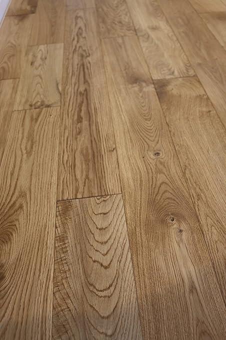 Oak Salthouse 34 X 5 Wire Brushed Solid Hardwood Flooring Sample