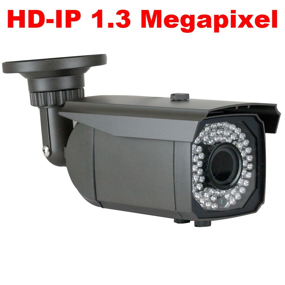 GW Security 4 Channel 960P POE Network HD IP Camera System with 2 x 1.3MP 2.8-12mm Varifocal Zoom Security Cameras VD804N2X1361IP