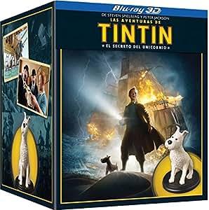 Tintin: El Secreto Del Unicornio - Boxset Figura Milu [Blu-ray]