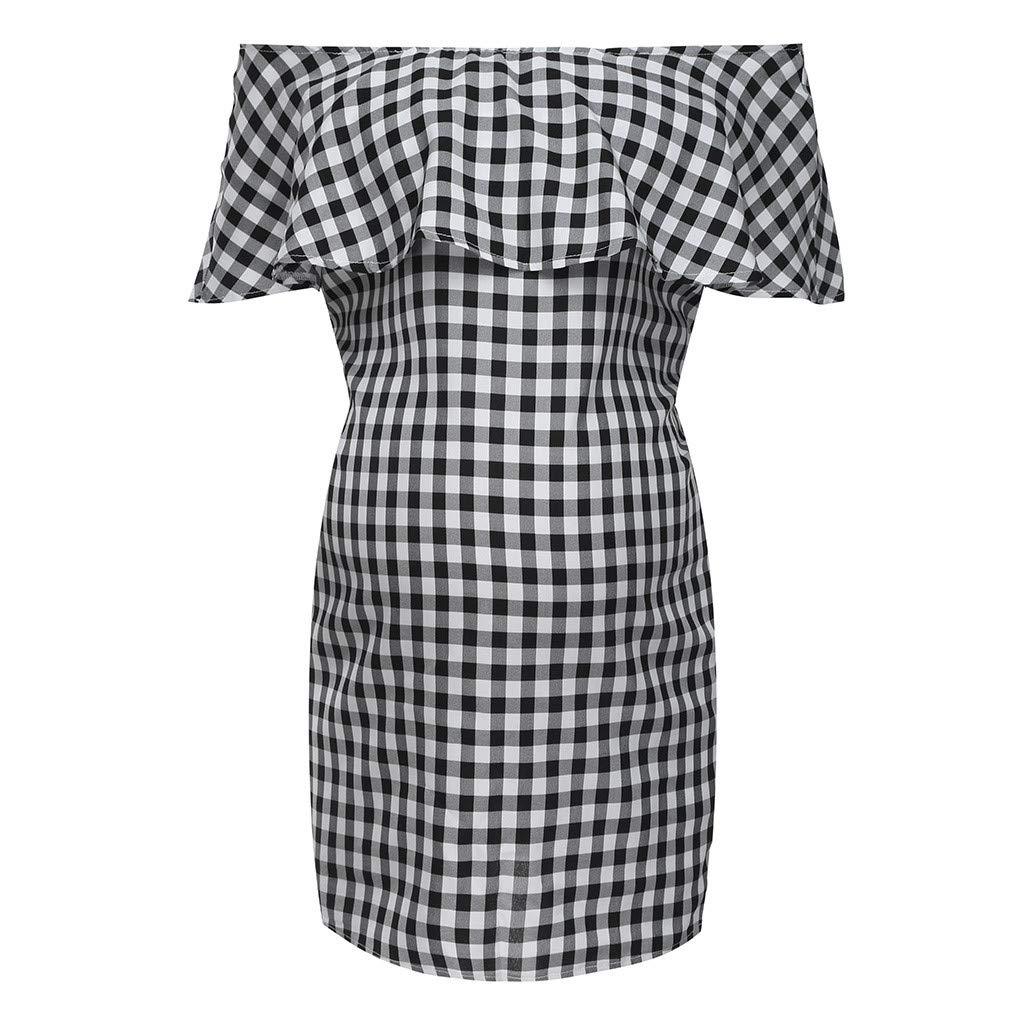 Schwangerschafts Kleider Damen Mutterschafts Kleid Stillkleid Umstandskleid NEU