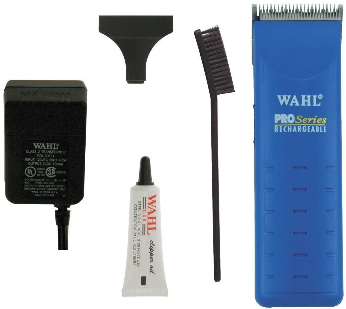 New Wahl Pro Blue Rechargable Cordless Dog Horse Animal Clipper Trimmer Made USA