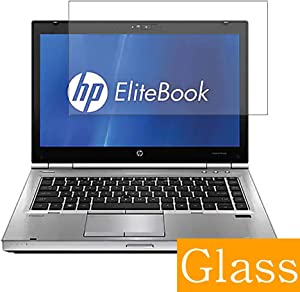 """Synvy Tempered Glass Screen Protector for HP EliteBook 8460w 14"""" Visible Area Protective Screen Film Protectors 9H Anti-Scratch Bubble Free"""