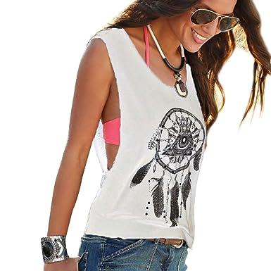 9358394ee799 Camisetas Sin Manga Mujer Camiseta Sin Mangas Camisas de Mujer Blusas  Camisa Camisetas de Tirantes Anchas Personalizadas Chica Chalecos Verano  Poleras ...