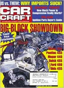 Car craft magazine january 2002 big block showdown cover for Car craft magazine back issues