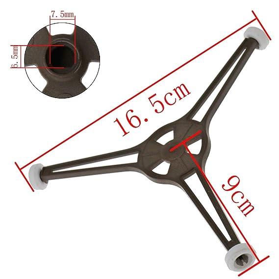 SALAKA 1PC Plastic 24.5cm Universal Triple Arm Microondas Horno ...