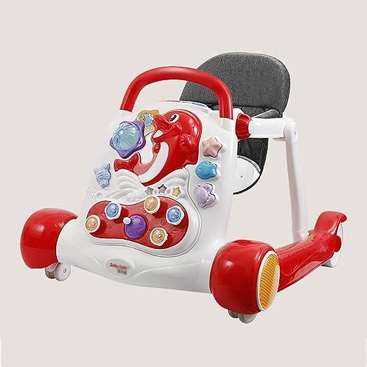 LFY Andadores para bebés: con música, fácil de Plegar Altura del ...