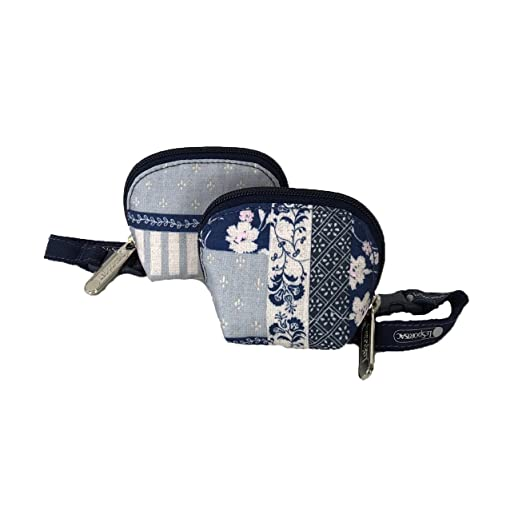 9c38e75d3 Amazon.com : LeSportsac Bubble Pacifier Pouches Bubble (Patchwork Blue B) :  Baby