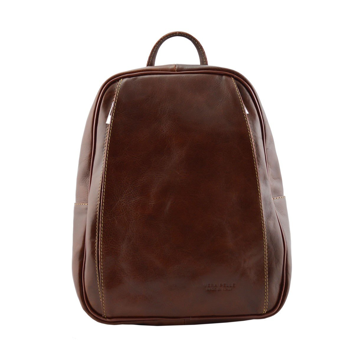 Dream Leather Bags Made in Italy Genuine Leather レディース 533-2 US サイズ: 1 M US カラー: ブラウン   B078XQTDC8