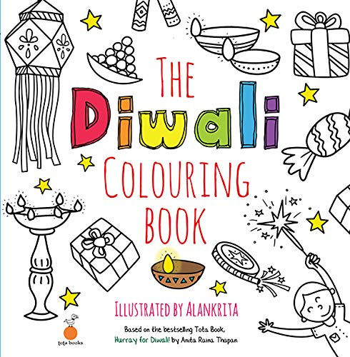 The Diwali Colouring Book Book Colour Pencil Paperback Alankrita 9788176212922 Amazon Com Books