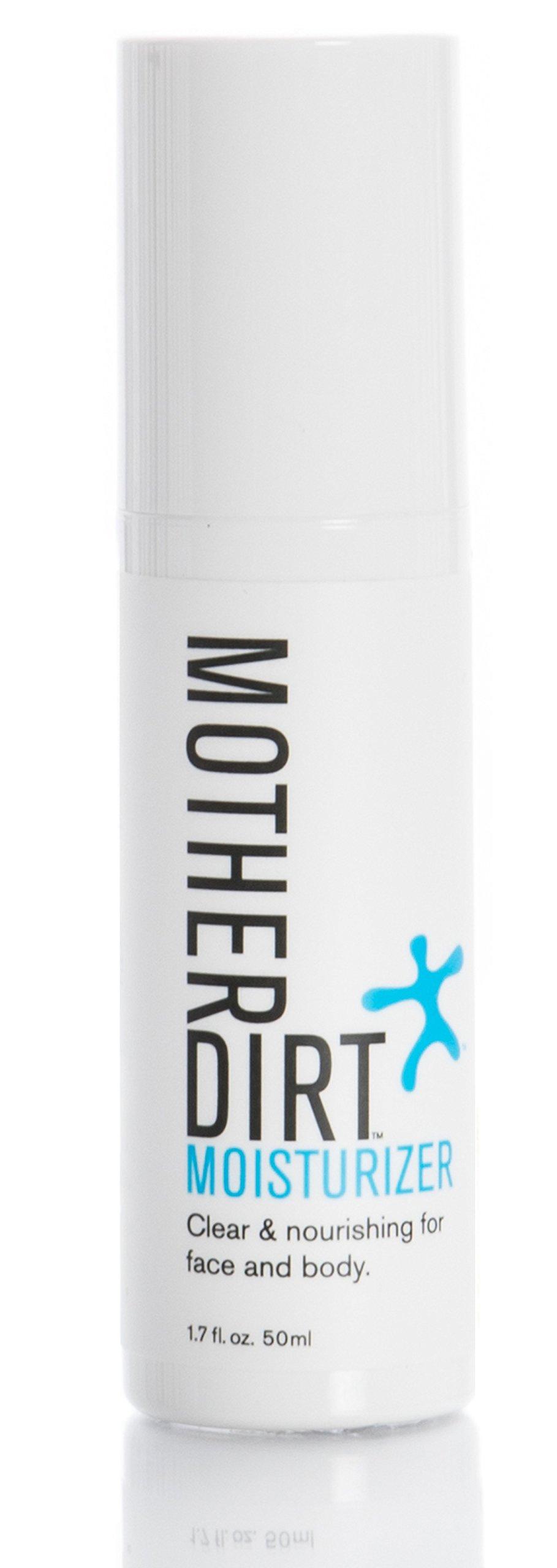 Mother Dirt Moisturizer, Preservative-free, Unfragranced, Biome-Friendly, 1.7 fl oz