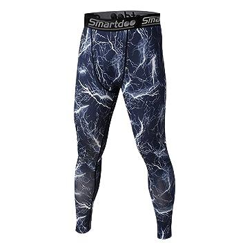 Compresión Pantalones de deporte, smartdoo Under Base layer Long ...