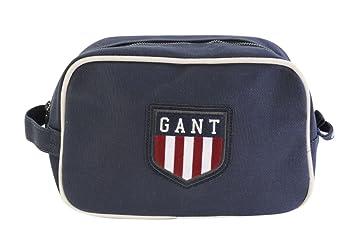 7c30f9de578 Gant Toiletry Bag Toiletry Wash Bag Dark Blue 100% Cotton: Amazon.co ...