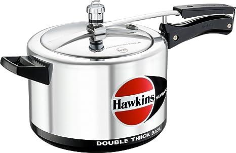 Amazon.com: Hawkins Cookers H55 hevibase olla de presión, 5 ...
