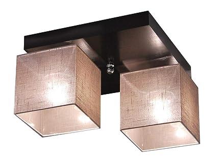 Plafoniere A Soffitto Per Cucina : Plafoniera illuminazione a soffitto in legno massiccio lls d