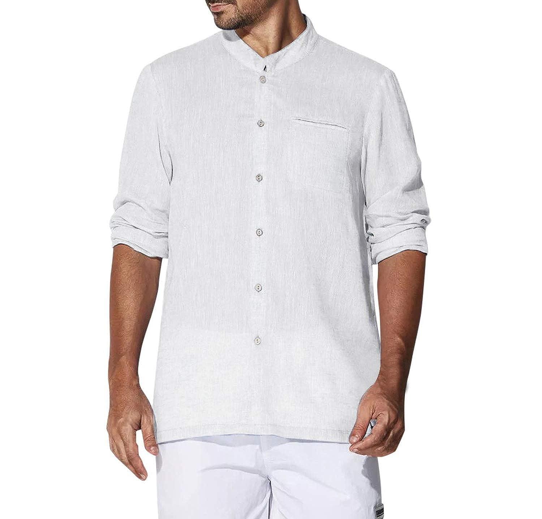 Shirt Men Spring Autumn Features Shirts Men Casual Long Sleeves Tang Shirt Male Shirts