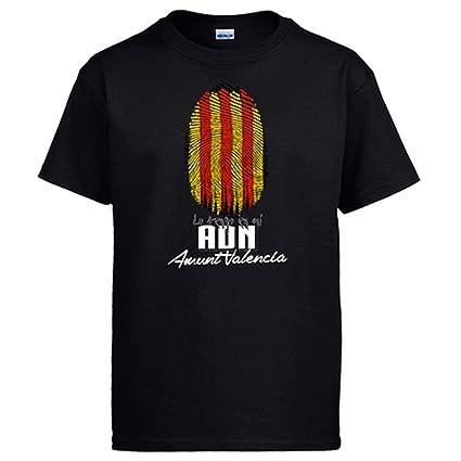 Camiseta lo tengo en mi ADN Valencia Valenciana fútbol: Amazon.es: Ropa y accesorios