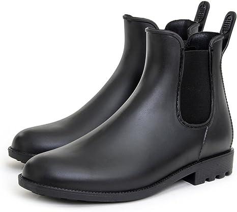 Zapatos de Lluvia para Hombre Botas para Hombre al Aire