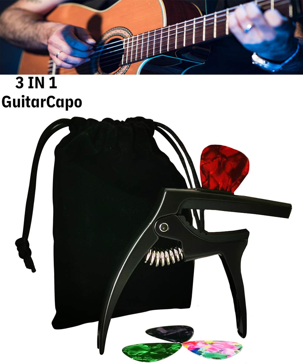 Capo Black/&Silver
