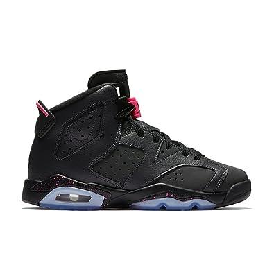 910c16442dbef6 ... where to buy nike jordan kids air jordan 6 retro gg anthracite black  black basketball shoe