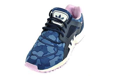 adidas Schuhe - Racer Lite W - 37B25885blue  Blau Camouflage